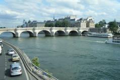 Voie sur berge Paris