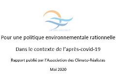 Rapport climato-réalistes